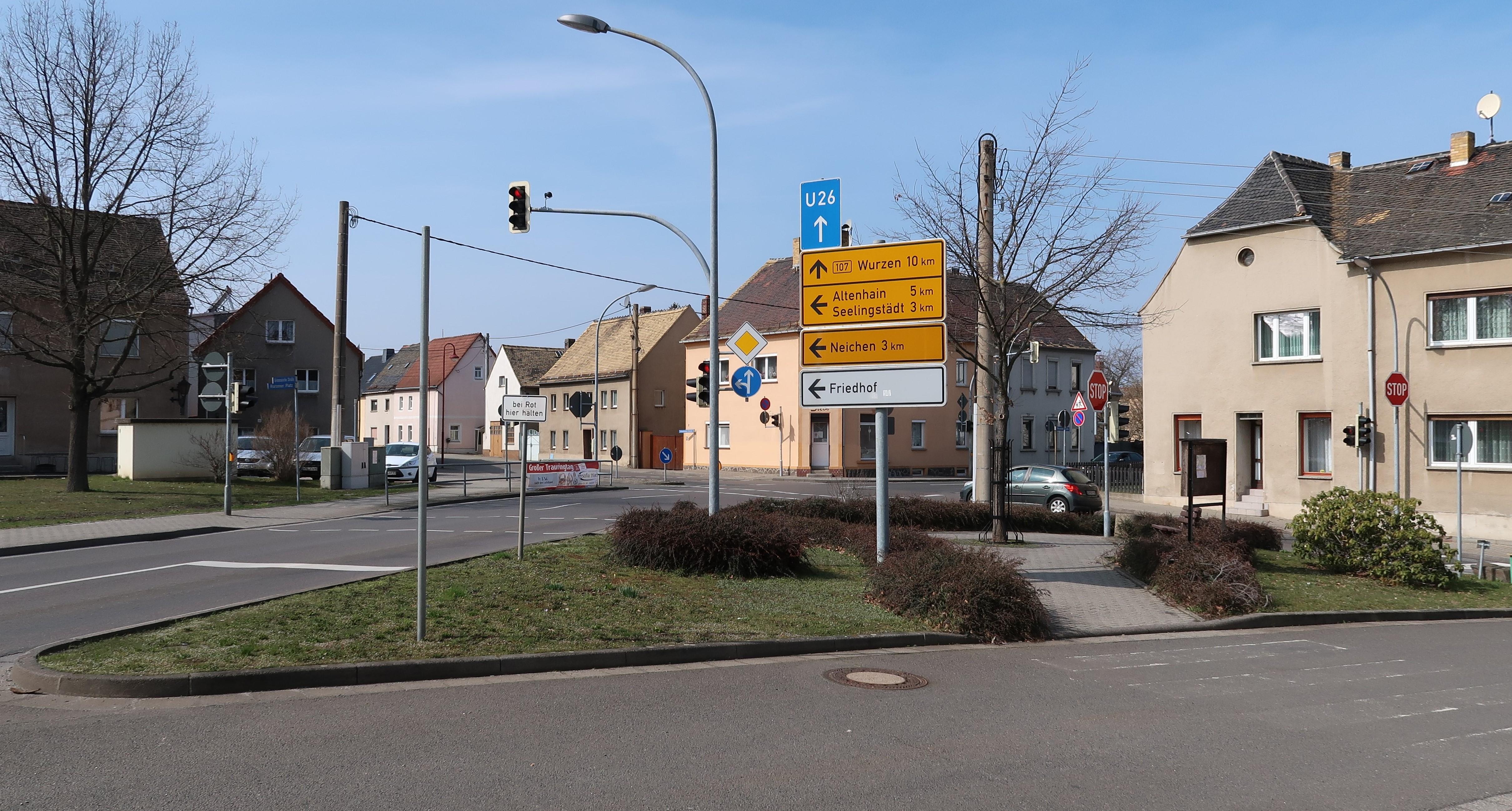 Banner Kreuzung Trebsen