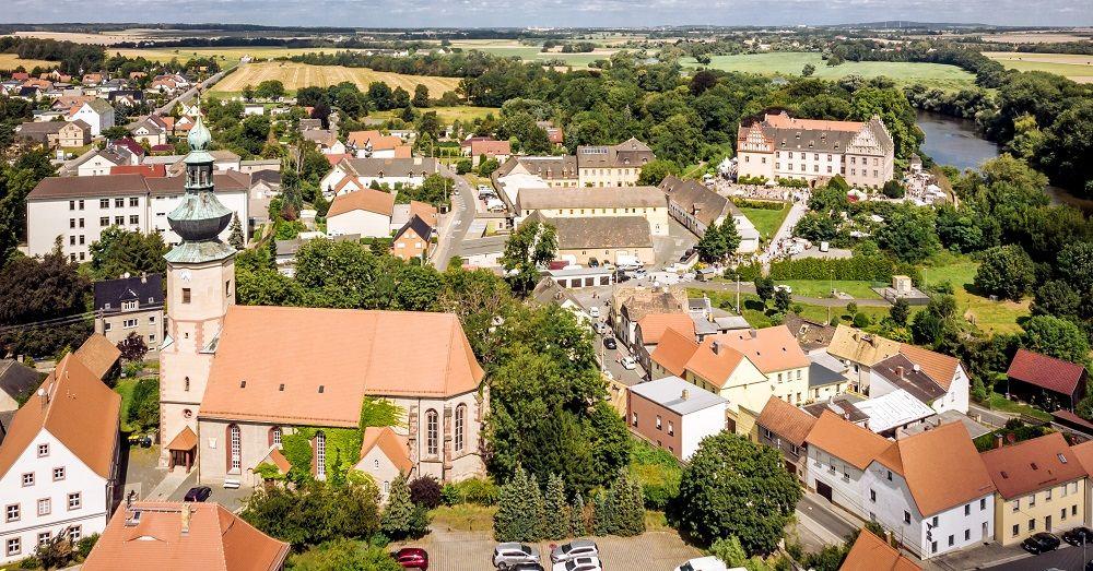 Banner Trebsen Kirche+Schloss
